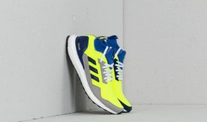 adidas Consortium Ultraboost Mid Solar Yellow/ Hi-Res Blue/ Ftw White