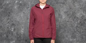 Herschel Supply Co. W Voyage Wind Jacket Windsor Wine