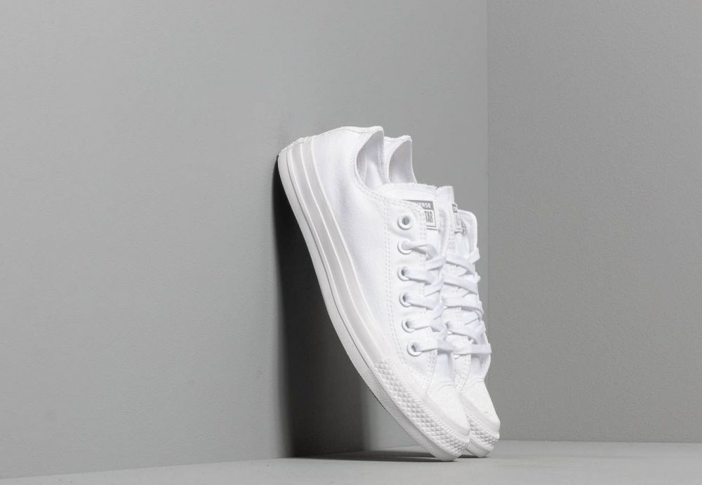 f4be91d90e57c Converse Chuck Taylor All Star White/ White/ Silver značky Converse -  Lovely.sk