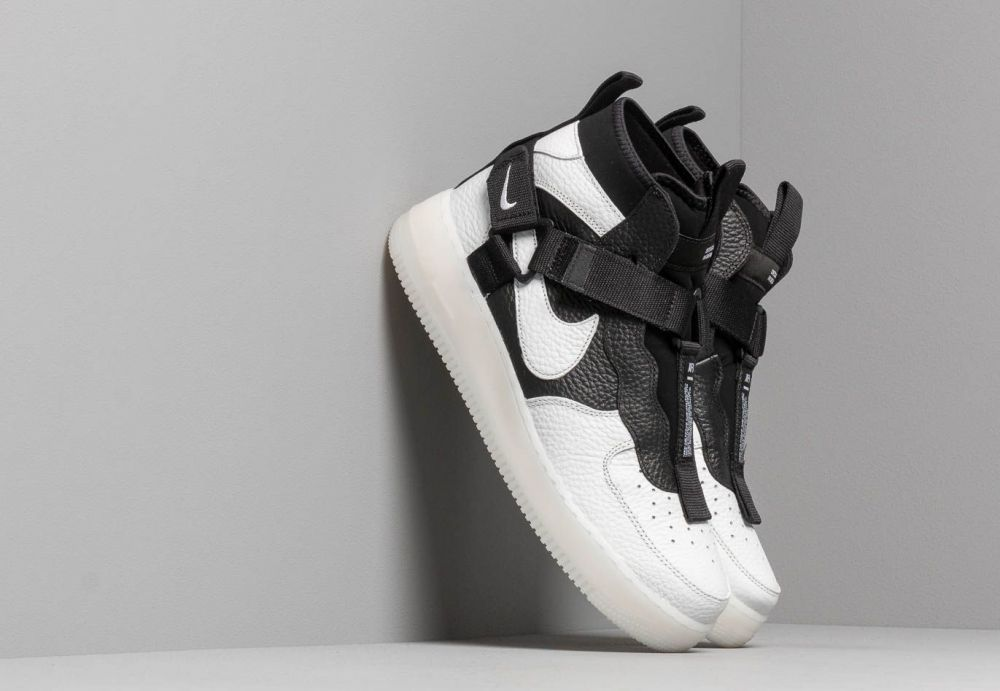 80550474ce Nike Air Force 1 Utility Mid Off White  Black-White značky Nike ...