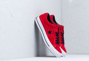 Converse One Star OX Enamel Red/ Black/ White