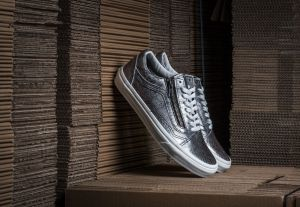 Vans Old Skool Zip (Disco Python) Black/ Blanc de Blanc EUR 36.5