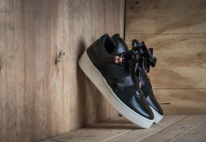 Filling Pieces Mountain Cut Bow Black US 9.5