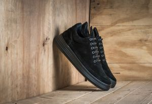 Filling Pieces Low Top Stripe All Black US 8.5