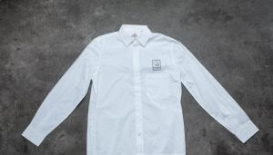 Cheap Monday Squared Shirt White XL