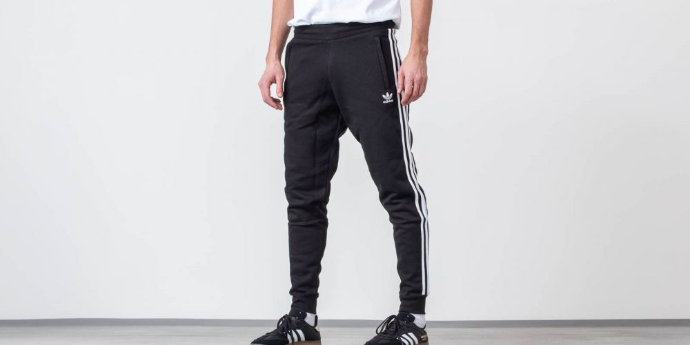 adidas Originals 3-Stripes Pants Black