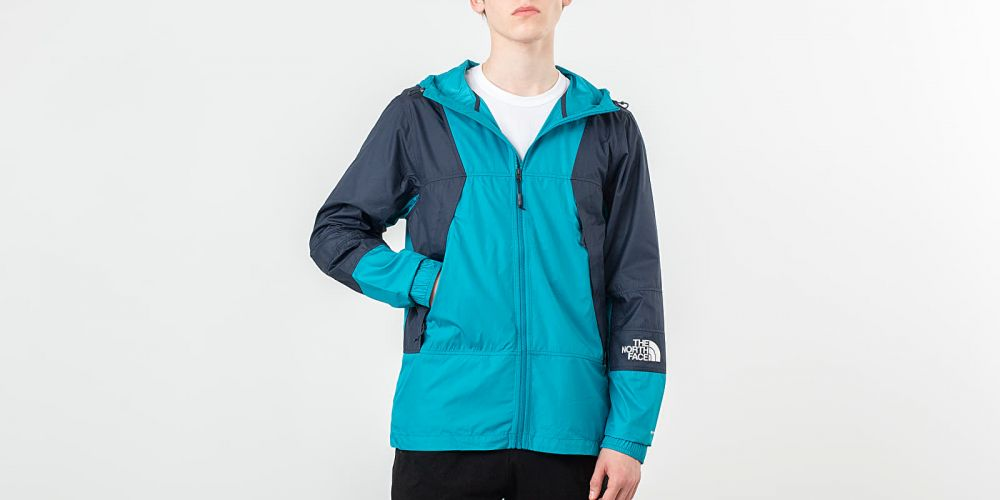 e589e7480853 The North Face Mountain Light Windshell Jacket Crystal Teal značky ...