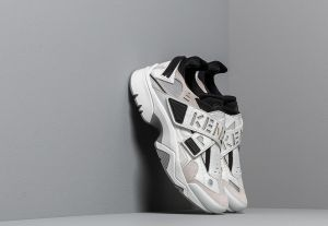 KENZO New Sonic Sneakers White/ Grey/ Black