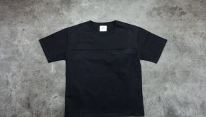 STAMPD Hillside Elongated Field Pocket Shirtgated Tee Black S