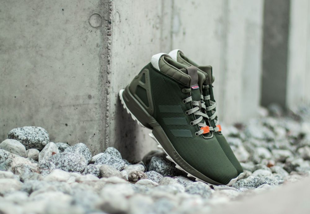 many styles temperament shoes to buy adidas ZX Flux 5/8 TR Olive Cargo/ Core Black/ Core White EUR 46