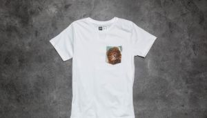 Dedicated x Star Wars Chewbacca Pocket T-Shirt White XL
