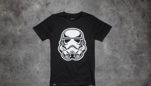 Dedicated x Star Wars Trooper Head T-Shirt Black S