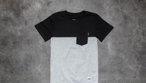 Dedicated 50-50 T-Shirt Black/ Grey S