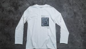 STAMPD Destination Long Sleeve Tee Off White L