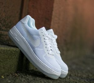 Nike W Air Force 1 Low Upstep BR White/ White EUR 41