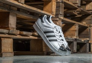 adidas Superstar Metal Toe W Ftw White/ Core Black/ Silver 8.5
