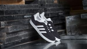 adidas Gazelle W Utility Black/ Ftw White/ Gold Metallic US 9