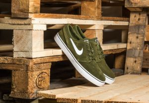 Nike Zoom Stefan Janoski Legion Green/ White-Black US 11.5