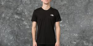 The North Face M Short Sleeve Simple Dome Tee Black S
