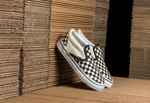 Vans T Classic Slip-On Black&White Checkerboard/ White US 6.5K
