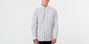 Alexandre Mattiussi Chest Pocket Shirt White/ Black