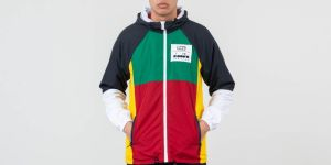 Diadora Sailing Jacket Red