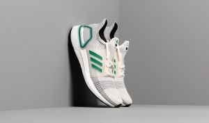 adidas Consortium UltraBOOST 19 Core White/ Sub Green/ Grey Two