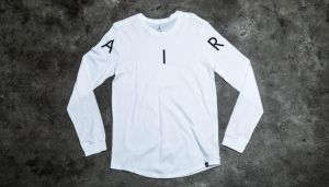 Jordan A.I.R. Long Sleeve Tee White/ Black XL