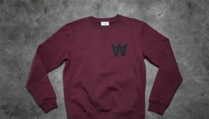 WOOD WOOD Houston Knitted Sweatshirt AA Port Royale XL
