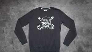 Vans Van Doren Holidaze Sweater Black Heather M