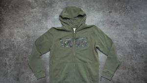 Vans Classic Zip Hoodie Grape Leaf/ Camo XL