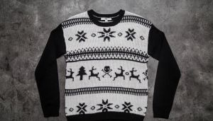 Vans IM Toasty Sweater Holiday White Sand XS