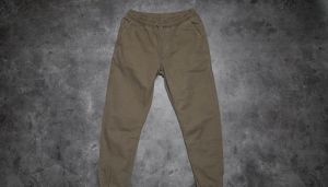 Urban Classics Washed Canvas Jogging Pants Olive S