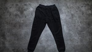 STAMPD Reverse Terry Pant Black XL