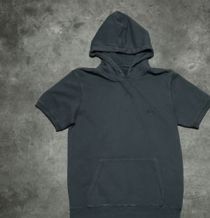 Stüssy Stock Long Sleeve Hoodie Charcoal M