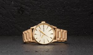 Nixon Sentry SS Watch All Gold