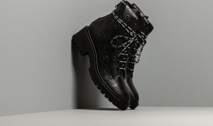 KENZO Pike Lace Up Boot Black