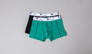 Champion 2pack Boxer Black/ Mint Green