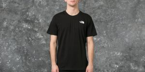 The North Face Short Sleeve Red Box Tee Black S