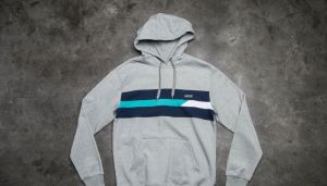 Vans Ninety Three Pullover Hoodie Concrete Heather S