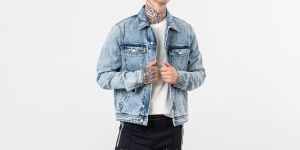Alexandre Mattiussi Denim Jacket Washed Blue