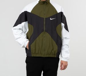 Nike Sportswear Re-Issue Jacket Legion Green/ White/ Black/ White