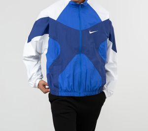 Nike Sportswear Re-Issue Jacket Hyper Royal/ White/ Deep Royal Blue/ White