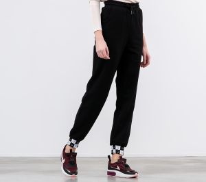 Lazy OAF Happy Slouchy Joggers Black