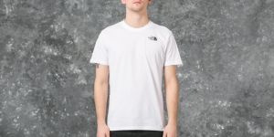 The North Face Short Sleeve Red Box Tee Tnf White S