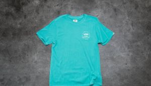 Vans Washed Rubber Co. Tee Baltic S