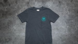 Vans Washed Original Rubber Co. Tee Black Overdyed M