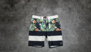 Vans Era Boardshort Black Decay Palm 32