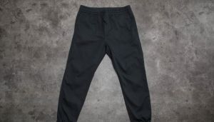 Carhartt WIP Madison Jogger Black Rinsed M