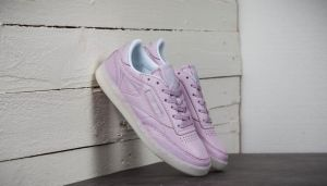 Reebok Wmns Club C 85 On The Court Shell Purple/ White/ Grey EUR 36